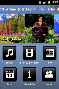 Cliff Adam (Cliffey n The Fish - screenshot thumbnail