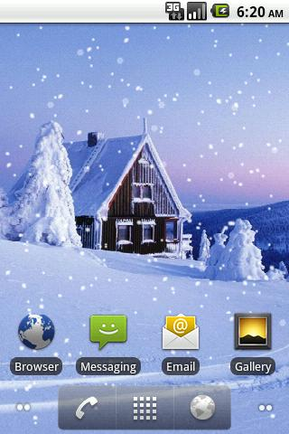 Snowfall Pro Live Wallpaper- screenshot