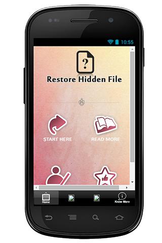 Restore Hidden File Guide