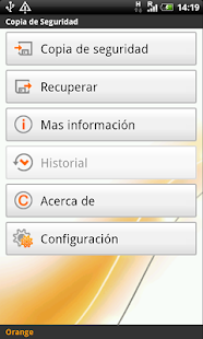 Copia de Seguridad - screenshot thumbnail