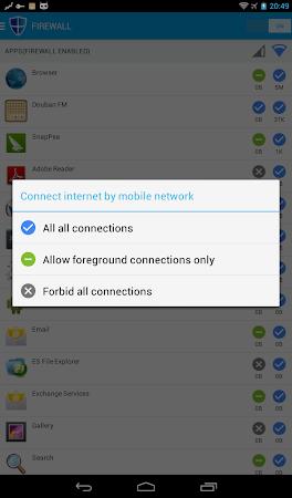 NoRoot Data Firewall 3.9 screenshot 42926