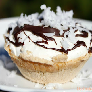 Coconut Peanut Butter Cup Pie