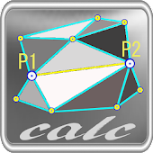 三角形三辺から座標展開ツール「三角多角計算」