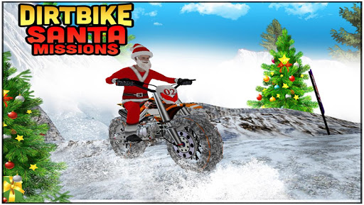 Dirt Bike Santa Missions 3D