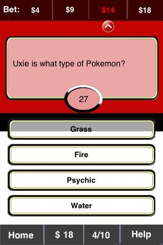 Pokemon FunBlast! Trivia LT - screenshot
