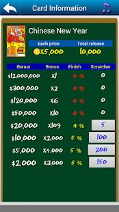 Scratch loterie - náhled