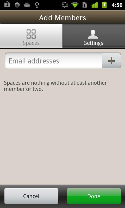 Posterous Spaces - screenshot