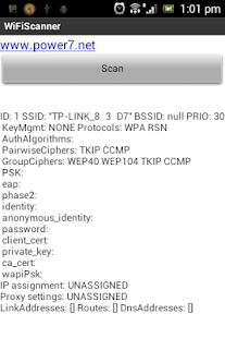 WiFi Scanner Analyser Unlocker - screenshot thumbnail