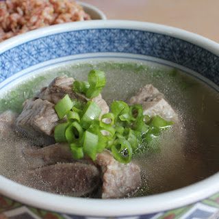 Galbi Tang (Short Rib Soup).