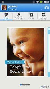 WebMD Baby - screenshot thumbnail