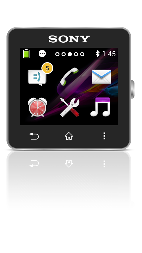 SmartWatch 2 SW2– skärmdump