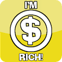 Rich man icon