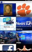 Screenshot of WBTW News 13