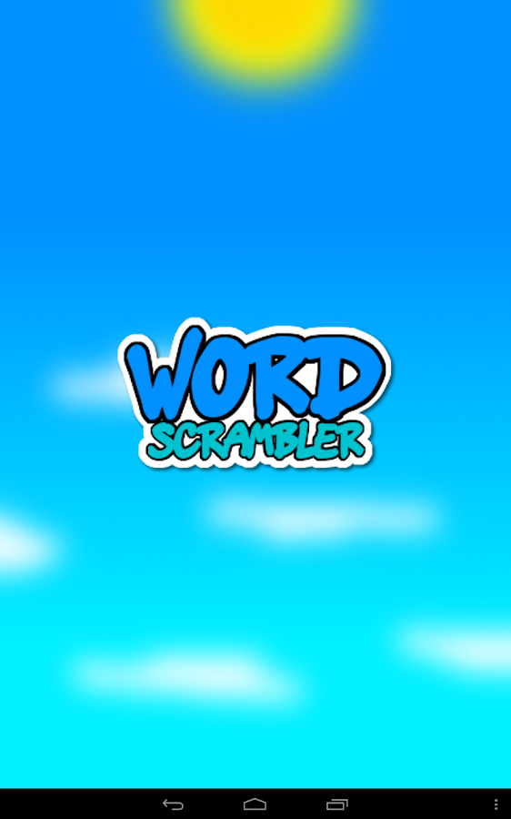 Word Scrambler Free - screenshot