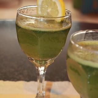 Mint and Lemon juice.