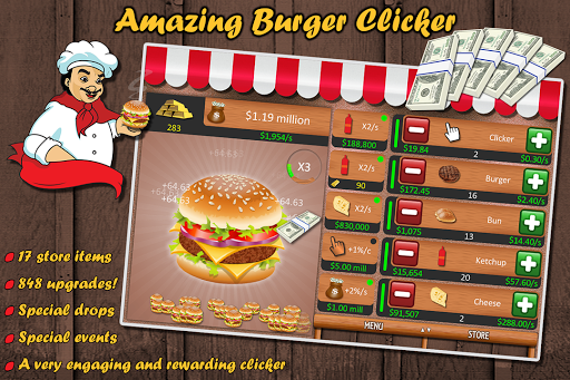 Amazing Burger Clicker