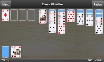 Screenshot of Classic Klondike Free