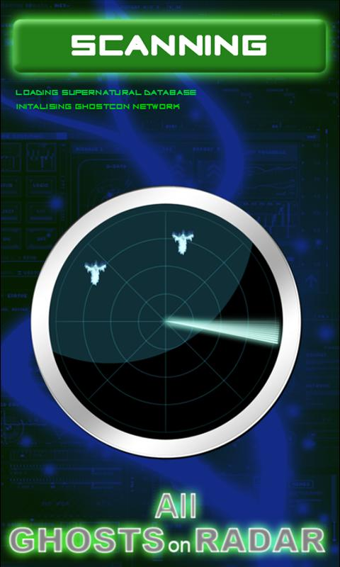 The GHOST RADAR SCAN - screenshot