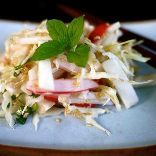 Baby Salad Turnip, Radish And Sesame