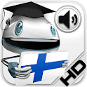 Finlandés Verbos HD LearnBots icon