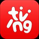 티빙(tving) - 실시간TV,방송VOD,영화VOD icon