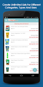Seroyamart.com - Shopping List screenshot 1