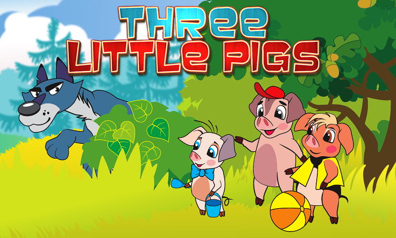 Three Little Pigs: Free Book- screenshot