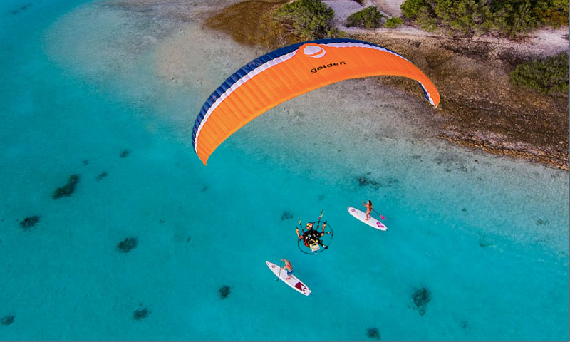 Paragliding Live Wallpaper- screenshot