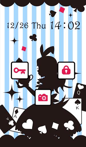 玩免費個人化APP|下載かわいいきせかえ壁紙★Alice's world app不用錢|硬是要APP
