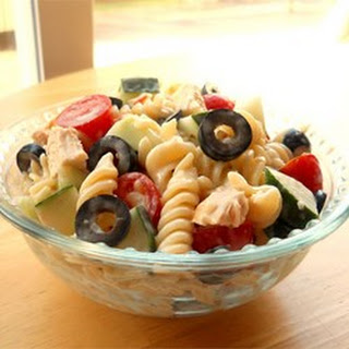 Yummy Pasta Salad.