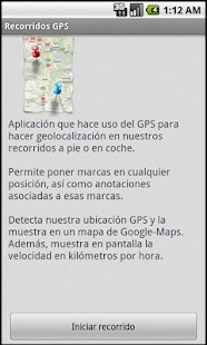Recorridos GPS - screenshot thumbnail