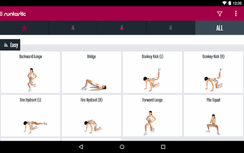 Runtastic Butt Trainer Workout Screenshot 16