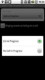 Locale Call Status Plug-In - screenshot thumbnail