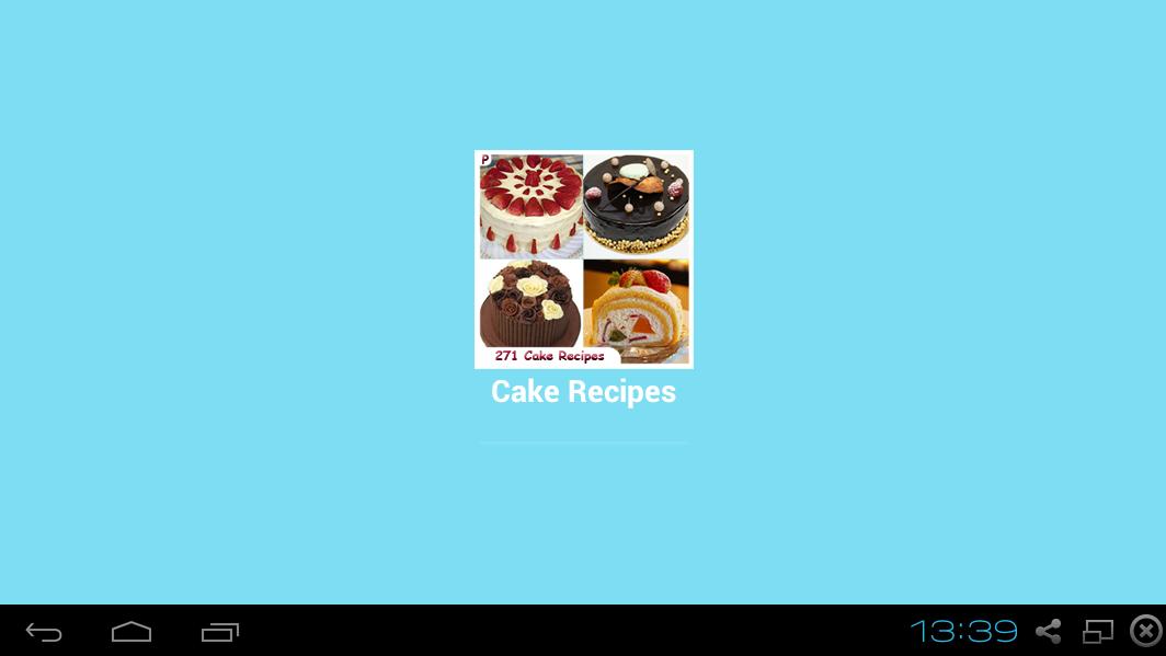 Free cake recipe apps