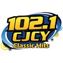 102.1 CJCY FM Medicine Hat logo