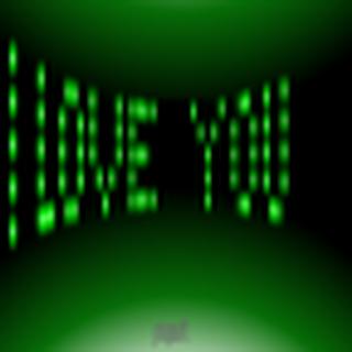 3D LED I Love You