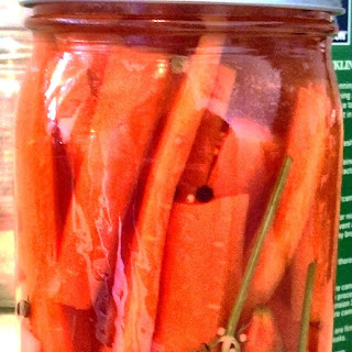 Spicy Delish Pickled Dilly Carrots