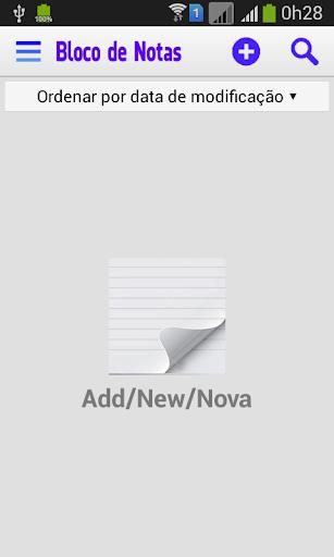 Bloco de Notas Lista - NotePad