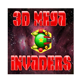 3D Mega Invaders in space game