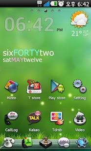i-play Go Launcher EX theme