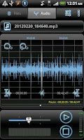 Screenshot of RecForge Pro - Audio Recorder