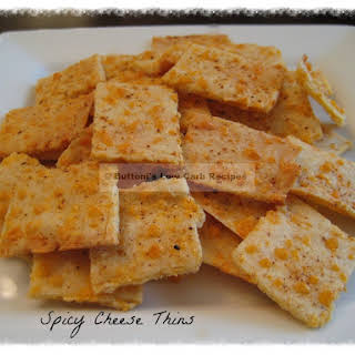 Spicy Cheese Thins.