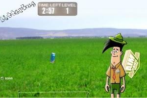 Screenshot of LitterBug Game