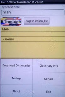 Box Offline Translator Free - screenshot thumbnail