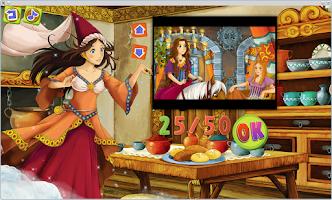 Screenshot of Fairy Tales Artist Coloring