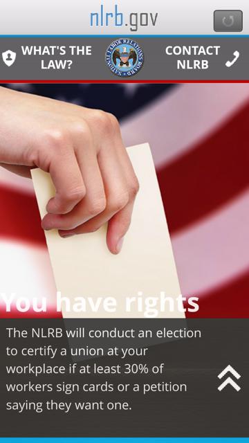 NLRB Guide- screenshot