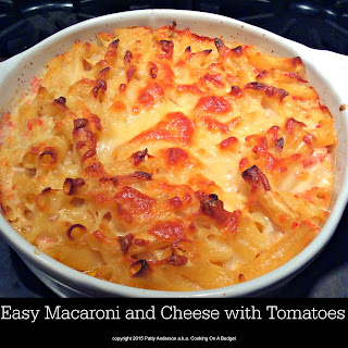 Easy Macaroni and Cheese with Tomatoes