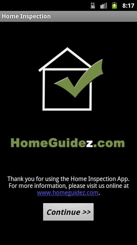 Home Inspection App - screenshot