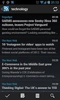 Screenshot of D7 Reader Pro (RSS   News)