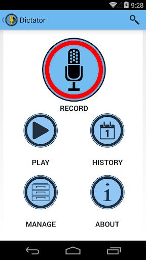 Dictator - Voice Note Recorder